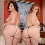 Vanessa Blake y Monica Mazzaratie, dos culos bien grandes