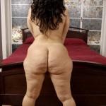 Vanessa Blake de espaldas muestra su enorme trasero