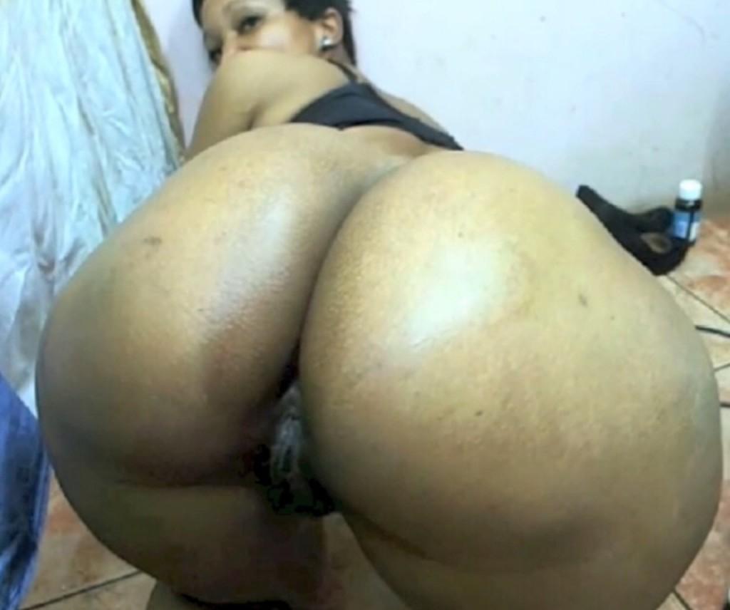 Big round booty ass