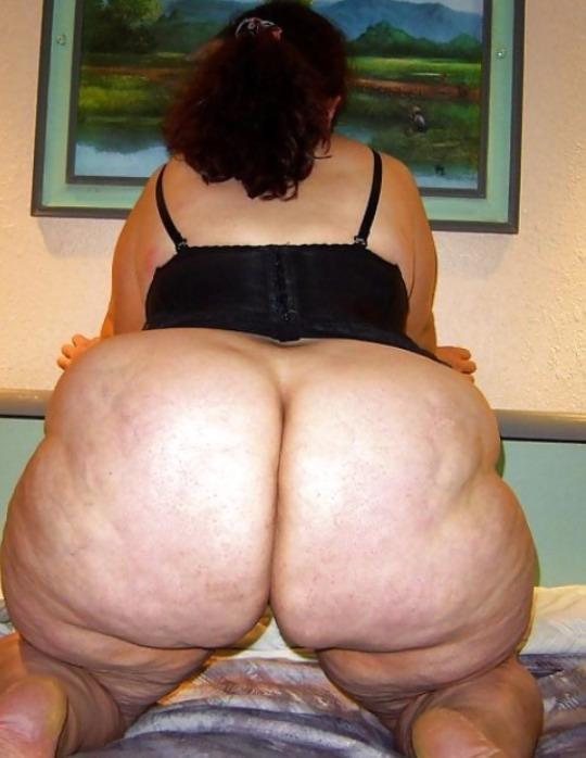 Mujer gran culo negro