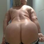 Madura rubia se desnuda