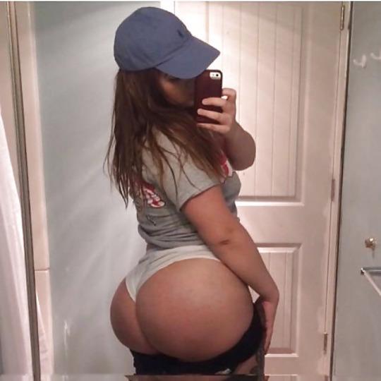 Foto de Selfie de culona en panty apretada