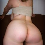 Rubia madura de culo grande