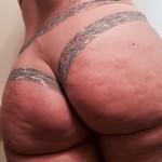 Nalgas hermosas y gorditas en cachetero sexy