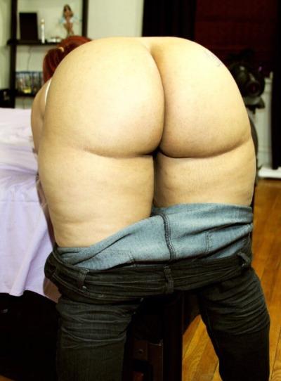 Foto de Culo gordo y redondo se baja el jean