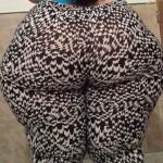 Nalgona en leggins sexy
