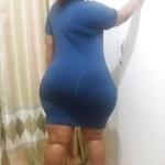 Morena super caderas anchas y culo gordo y grande