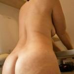 Madura desnuda de culo gordo