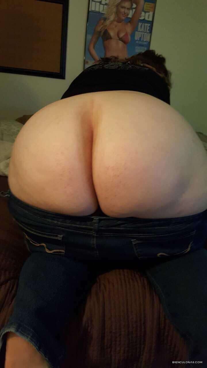 Bbw jeans ajustados culo