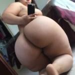 Selfie de culo de Pinky