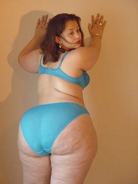 Fat Girl In Underwear