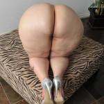 Mujer caderona con el culo bien parado