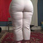 Culona en pantalon