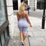 Ciera Rogers en la calle