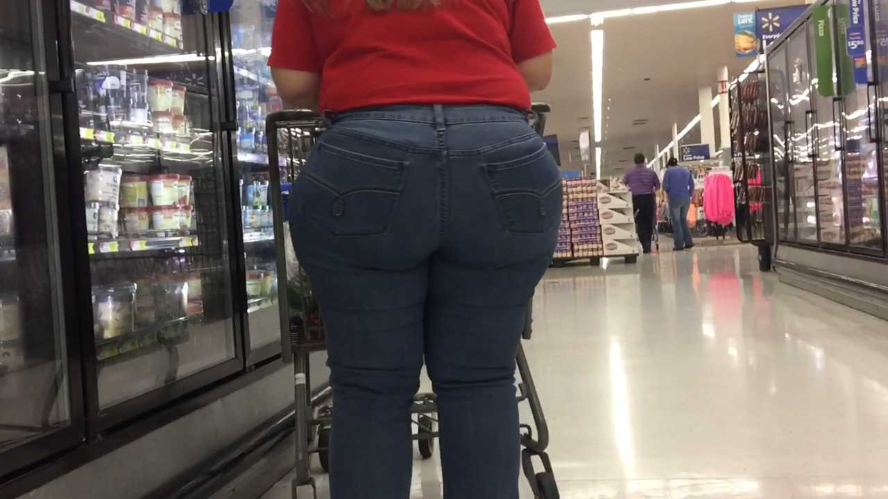 Culo en jeans blanco - 1 part 9